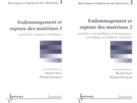 Michel Clavel et Philippe Bompard - Endommagement et rupture des matériaux - 2 volumes.