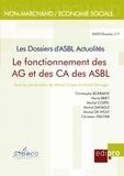 Michel Coipel et Michel Davagle - Le Fonctionnement des AG et des CA des ASBL - Les Dossiers d'Asbl Actualités.