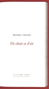Michel Collot - De chair et d'air.