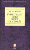 Michel Corbin - L'esprit-Saint chez Basile de Césarée.