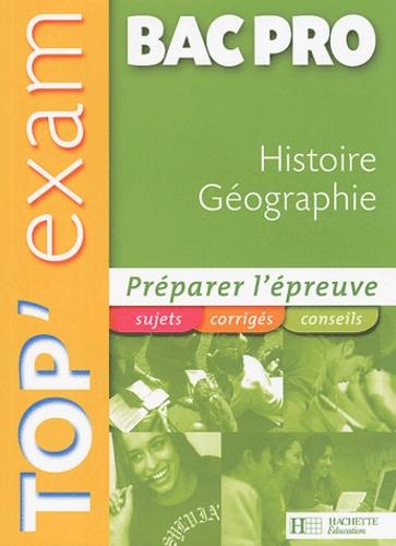 Michel Corlin et Alain Prost - Histoire Géographie Bac pro.