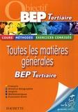 Michel Corlin et Brigitte Lallement - Toutes les matières générales - Pour réviser son Bep tertiaire.