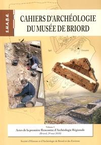 Michel Corna - Actes de la première Rencontre d'Archéologie Régionale (Briord, 29 mai 2010).