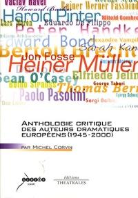 Histoiresdenlire.be Anthologie critique des auteurs dramatiques européens (1945-2000) Image