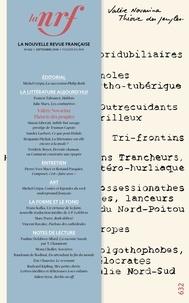 Michel Crépu et Antoine Gallimard - La Nouvelle Revue Française N° 632, septembre 20 : .