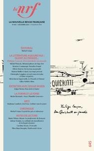 Michel Crépu - La Nouvelle Revue Française N° 645, décembre 202 : .