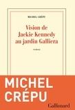 Michel Crépu - Vision de Jackie Kennedy au jardin Galliera.