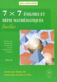7 x 7 énigmes et défis mathématiques faciles - Du 13e et 14e Championnat International des Jeux Mathématiques et Logiques.pdf