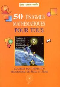 Gratuit Pdf Mathematiques Pour Tous 4eme Et 3eme 50 Enigmes