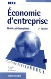 Michel Darbelet et Laurent Izard - Economie d'entreprise BTS 2 - Guide pédagogique.