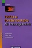 Michel Darbelet et Laurent Izard - Notions fondamentales de management.