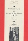 Michel de Ghelderode - Correspondance de Michel de Ghelderode - Tome 8, 1954-1957.