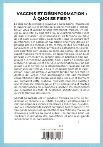 Les vaccins à l'ère de la Covid-19. Vigilance, confiance ou compromis ?