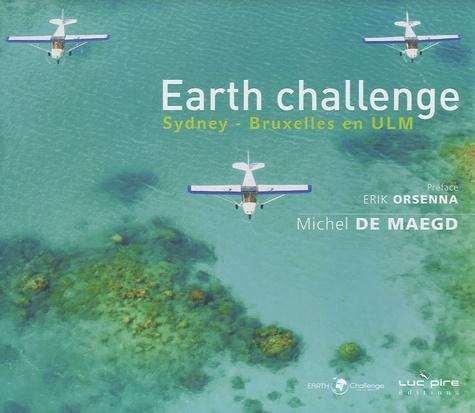 Michel De Maegd - Earth challenge - Sydney-Bruxelles en ULM.