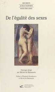 Michel de Manassein - De l'égalité des sexes.
