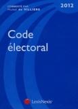 Michel de Villiers - Code électoral 2012.