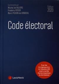 Michel de Villiers et Frédéric Potier - Code électoral.