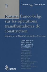 Deedr.fr Journée franco-belge sur les opérations transfrontalières de construction - Regards sur la liberté de prestation de services Image