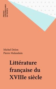 Michel Delon et Pierre Malandain - .