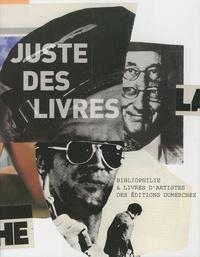 Michel Déon et Hubert Haddad - Juste des livres - Bibliophilie & Livres d'artistes des éditions Dumerchez.