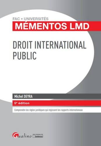 Michel Deyra - Droit international public.