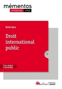 Michel Deyra - Droit international public.