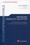 Michel Di Martino - Procédures amiables et collectives - 60 thématiques juridiques, financières, fiscales et comptables.