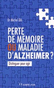 Perte de mémoire ou maladie dAlzheimer ?.pdf