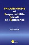 Michel Dion - Philanthropie et Responsabilité Sociale de l'Entreprise.