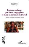 Michel Dispagne - Espaces sociaux, pratiques langagières et mise en scène(s) du travail - Contexte européen vs contexte créole.