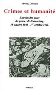 Michel Dobkine - Crimes et humanité.