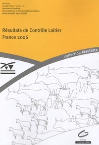 Michel Douguet et Agnès Piacère - Résultat de Contrôle Laitier - France 2006.