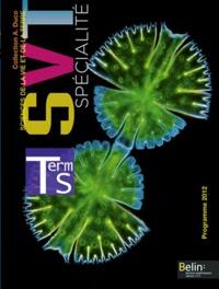 Michel Dreyer - Sciences de la Vie et de la Terre Tle S spécialité - Programme 2012.