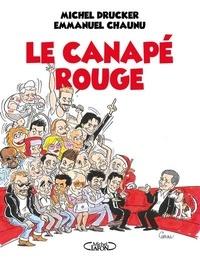 Michel Drucker et Emmanuel Chaunu - Le canapé rouge.