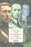 Michel Dumoulin et Emmanuel Gerard - Nouvelle Histoire de Belgique - Volume 2, 1905-1950.
