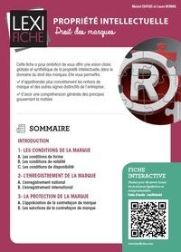 Propriété intellectuelle- Droit des marques - Michel Dupuis pdf epub