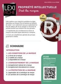 Michel Dupuis et Laura Nowak - Propriété intellectuelle - Droit des marques.