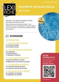 Michel Dupuis et Laura Nowak - Propriété intellectuelle - Les brevets.