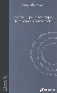 Satt2018.fr Comment, par la technique, le rationnel se fait-il réel ? Image