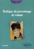 Michel Erman - Poétique du personnage de roman.