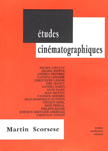 Michel Estève et  Collectif - Martin Scorcese.