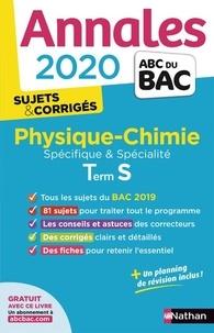 Michel Faye et Karine Marteau-Bazouni - Physique-Chimie Tle S spécifique et spécialité - Sujets & corrigés.