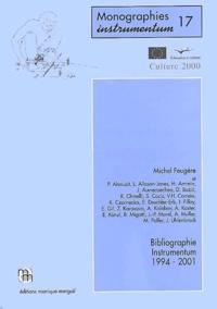 Michel Feugère et  Collectif - Bibliographie Instrumentum 1994-2001. 1 Cédérom