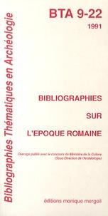 Michel Feugère - Bibliographies sur l'époque romaine.