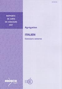 Michel Feuillet - Agrégation italien - Concours externe.