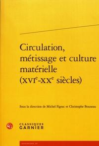 Michel Figeac et Christophe Bouneau - Circulation, métissage et culture matérielle (XVIe-XXe siècles).
