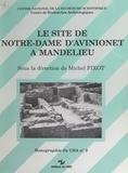 Michel Fixot - Le site de Notre-Dame d'Avinionet à Mandelieu.
