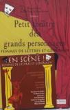 Michel Fustier et Pascale Roux - Petit théâtre des grands personnages - Tome 6, Femmes de lettres et généraux. 1 CD audio