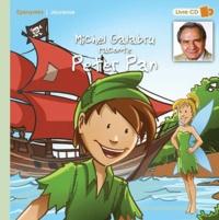 Michel Galabru - Michel Galabru raconte Peter Pan. 1 CD audio