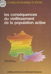 Michel Garibal et  Conseil Economique et Social - Les conséquences du vieillissement de la population active - Séance du 19 juin 1990.